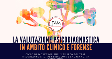 Formazione: La valutazione psicodiagnostica in ambito clinico e forense