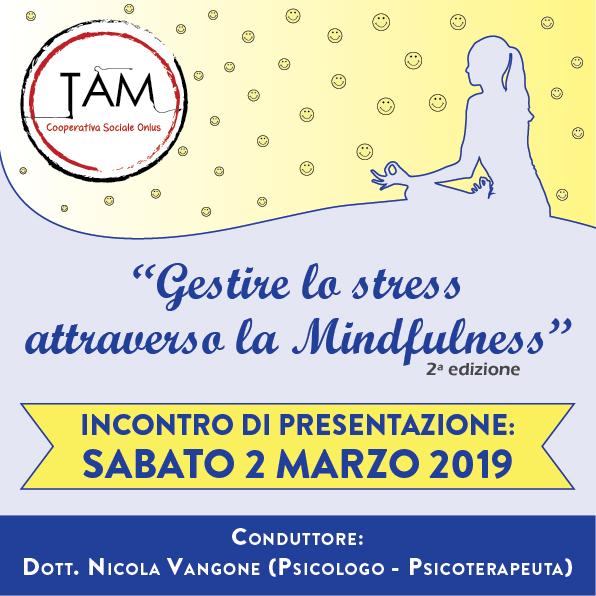 presentazione gestire lo stress attraverso la mindfulness