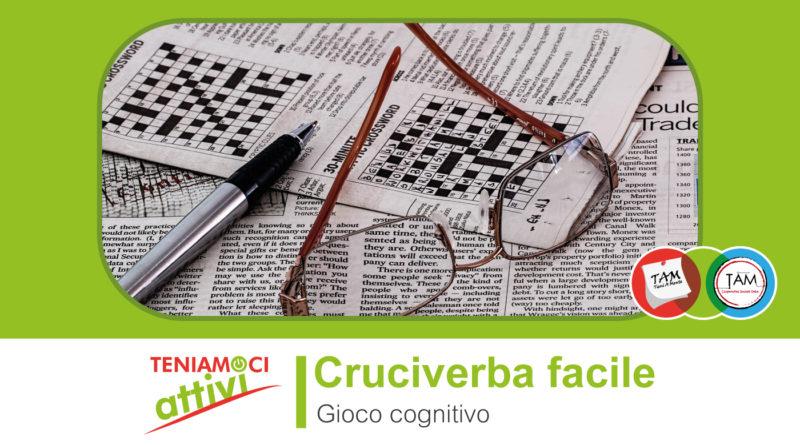 Teniamoci Attivi – Gioco Cognitivo: Cruciverba Facile adatto a persone con demenza